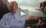 Morgan Freeman Exclusive Interview: Island of Lemurs Madagascar