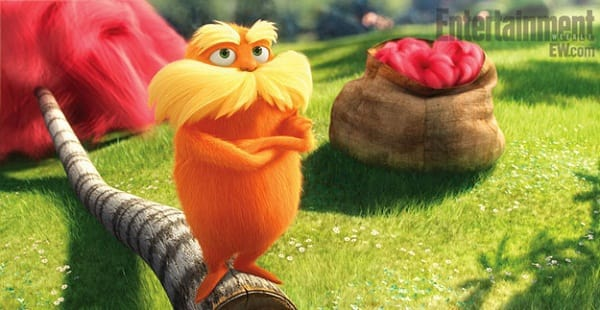 Once-ler from Dr. Seuss' The Lorax
