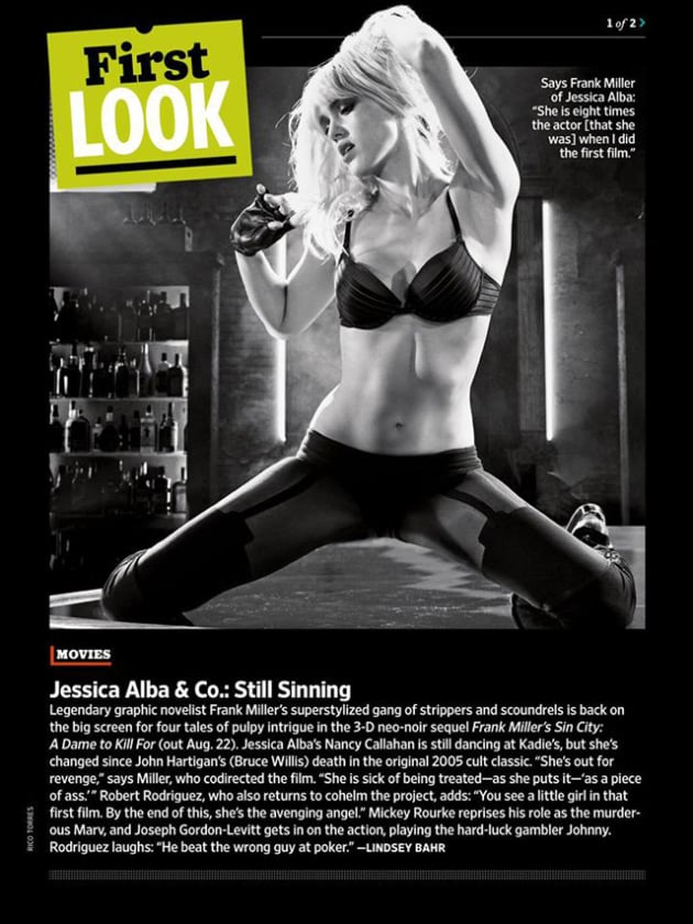 Sin City: A Dame to Kill For Jessica Alba