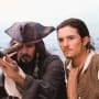 Pirates of the Caribbean Johnny Depp Orlando Bloom