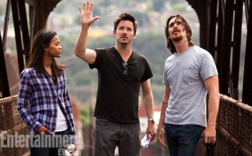 Out of the Furnace Christian Bale Zoe Saldana
