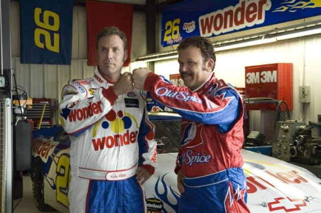 Talladega Nights Will Ferrell John C. Reilly