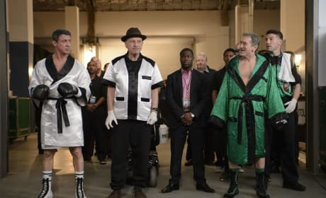 Grudge Match Photo: Robert De Niro & Sylvester Stallone As Battling Boxers