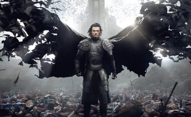 Luke Evans Dracula Untold Poster