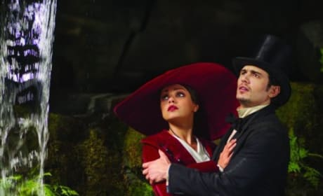 Mila Kunis James Franco Oz: The Great and Powerful