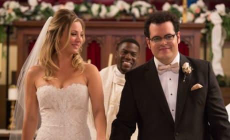 The Wedding Ringer Stars Josh Gad Kaley Cuoco-Sweeting