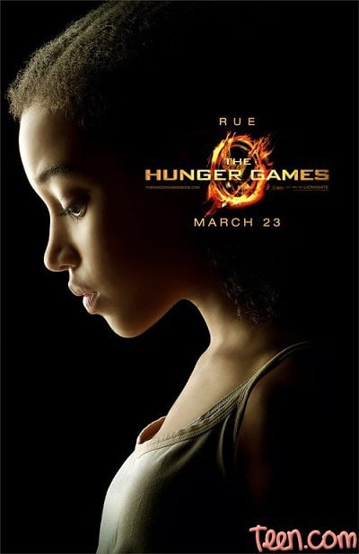 The Hunger Games: Rue Character Poster