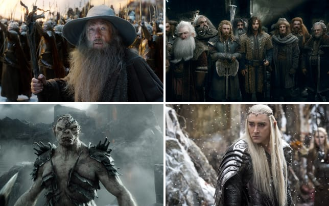 The hobbit the battle of the five armies ian mckellen is gandalf