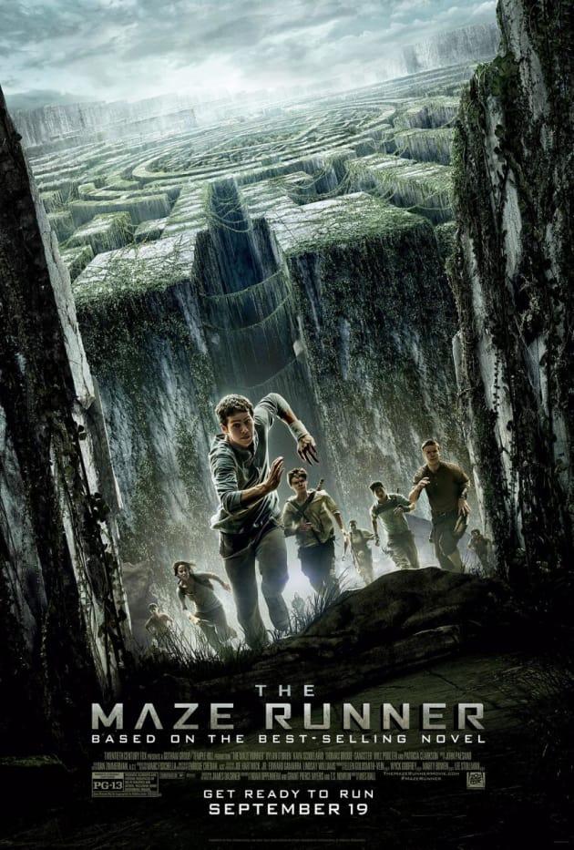 The Maze Runner Cast Poster