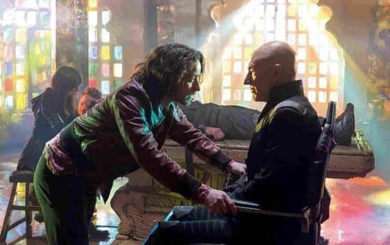 X-Men Days of Future Past James McAvoy and Patrick Stewart
