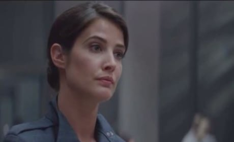 Captain America The Winter Soldier Deleted Scene: Maria Hill Is Tested