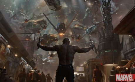 Guardians of the Galaxy Dave Bautista is Drax