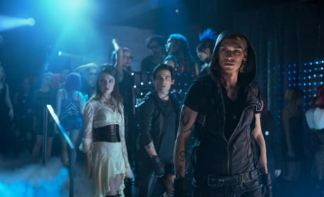 Jemina West, Kevin Zegers, Jamie Campbell Bower The Mortal Instruments: City of Bones