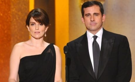 Steve Carell and Tina Fey