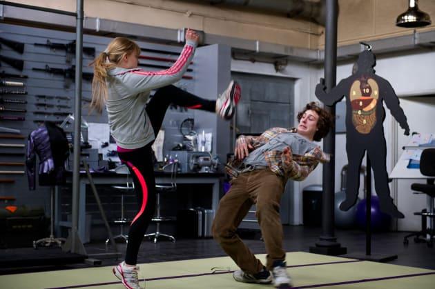 Kick-Ass 2 Chloe Moretz Aaron Taylor-Johnson
