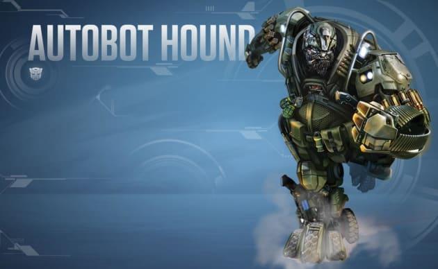Transformers Age of Extinction Autobot Hound