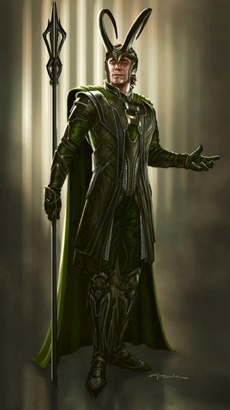 Loki Avengers Concept Art