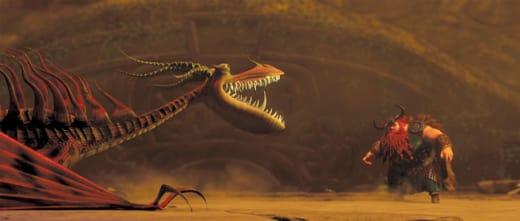 Stoick Faces the Dragon