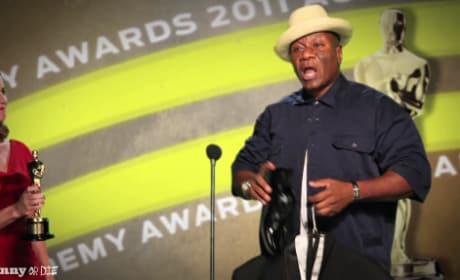 Ving Rhames Piranha 3D Oscar Acceptance Speech