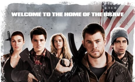 Red Dawn Poster: Welcome to the Home of the Brave