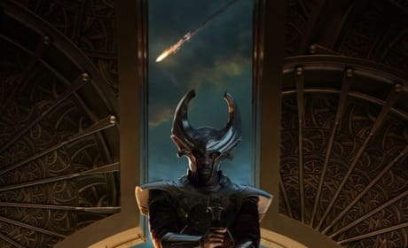 Thor the Dark World Heimdall Poster