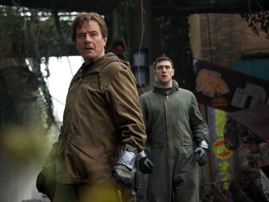 Godzilla Bryan Cranston Aaron Taylor-Johnson