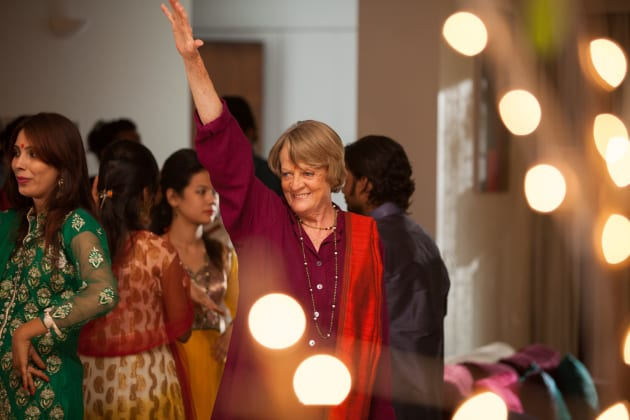 The Second Best Exotic Marigold Hotel Maggie Smith