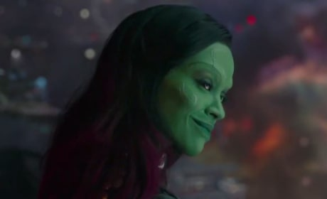 Guardians of the Galaxy Featurette: Meet Zoe Saldana's Gamora