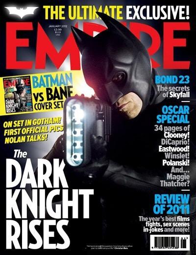 The Dark Knight Rises: Christian Bale as Batman