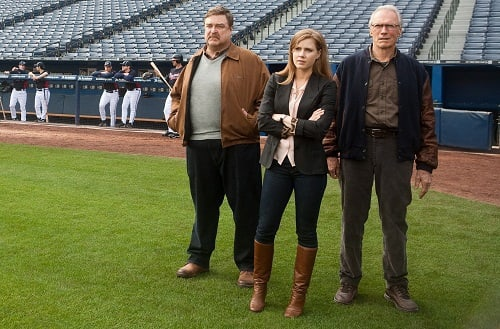 Clint Eastwood, John Goodman and Amy Adams in Trouble with the Curve