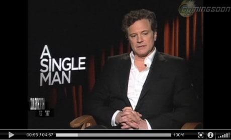 A Single Man interviews
