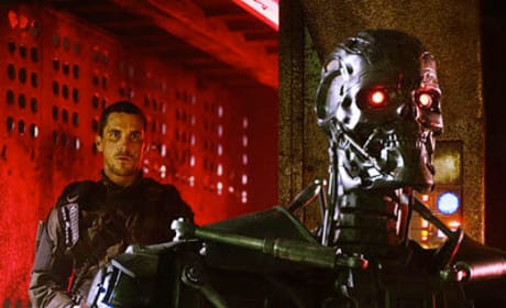 John Connor Meets a Terminator