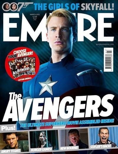 Chris Evans' Captain America in The Avengers