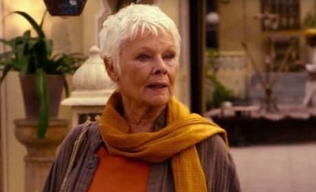 Judi Dench The Second Best Marigold Hotel
