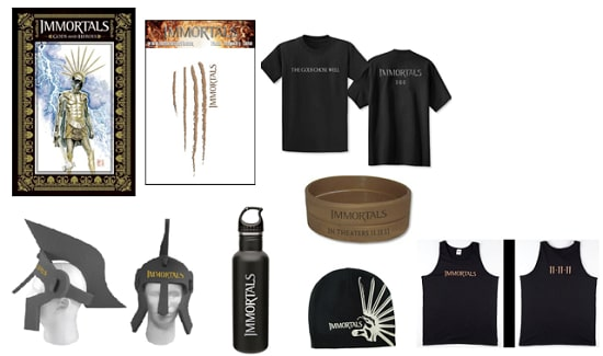 The Immortals Prize Pack