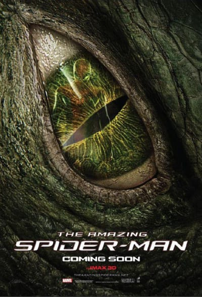 Amazing Spider-Man Lizard Poster