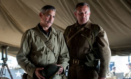 The Monuments Men George Clooney Hugh Bonneville