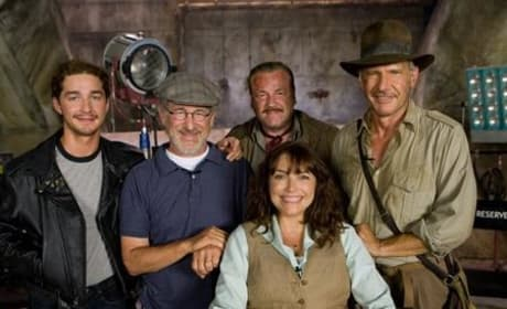 Indiana Jones and the Kingdom of the Crystal Skull: It's a Wrap!