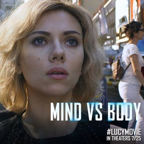 Lucy Mind Body Poster
