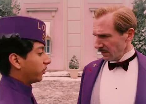 The Grand Budapest Hotel Star Ralph Fiennes