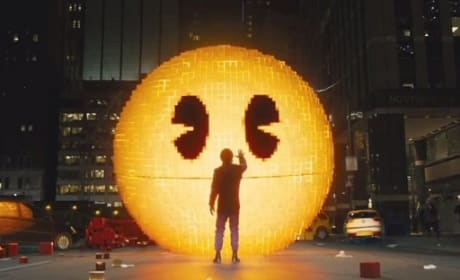 Pixels Clip Celebrates Pac-Man's 35th Anniversary!