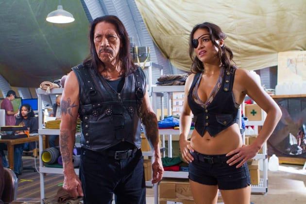 Machete Kills Danny Trejo Michelle Rodriguez