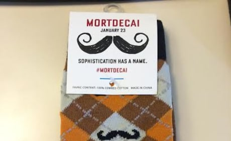 Mortdecai Socks Photo