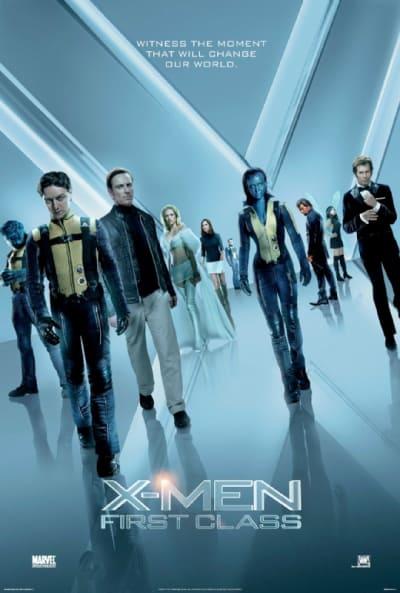 X-Men: First Class UK Poster