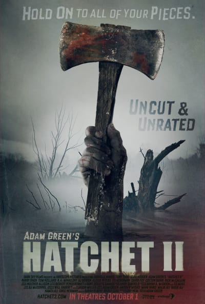 Hatchet 2 Poster