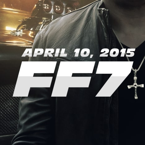 Fast and Furious 7 Logo