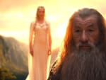 Ian McKellen as Gandalf in The Hobbit