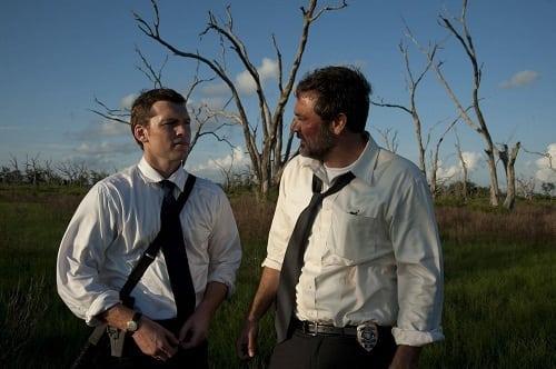 Jeffrey Dean Morgan and Sam Worthington in Texas Killing Fields