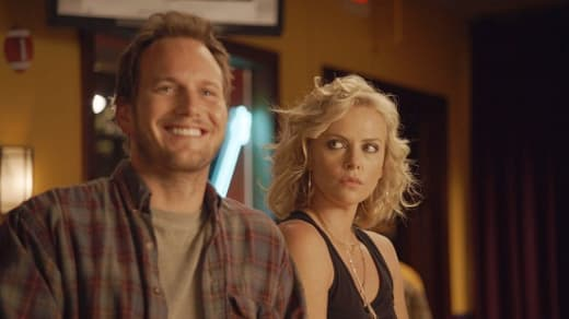 Patrick Wilson and Charlize Theron in Young Adult
