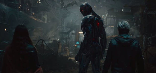 Quicksilver, Scarlet Witch and Ultron Work Together